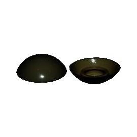 capuchon de vis de pare-choc noire