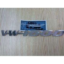 """SIGLE DE CAPOT ARRIÈRE """"VW1500"""""""