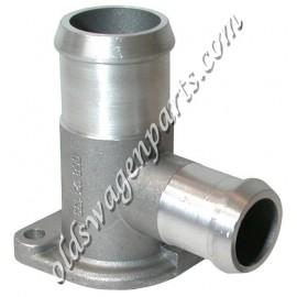 raccord d'eau aluminium sur culasse D-TD