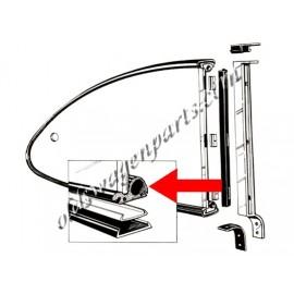 joints (2) de vitre latérale pop out entre vitre et cadre chromé 60-71