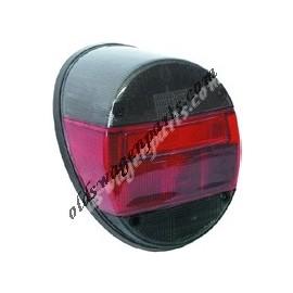 feu arrière gauche ou droit complet 1303 et 1200 8/73- rouge et fumé