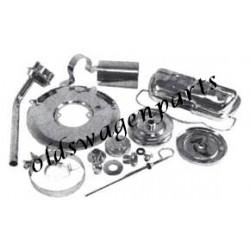 kit chrome moteur 11 pièces