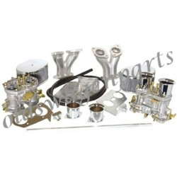 kit carburateurs EMPI 40 hpmx complet (avec pipes,filtres, tringlerie et cornets)