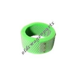 filtre à air rond chromé à louvers